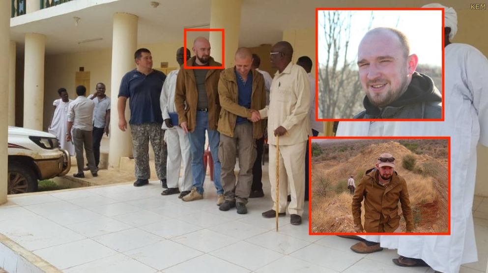 Mikhail Potepkin, photographed by         local media     in Sudan meeting with officials regarding the opening of a Meroe Gold mine.