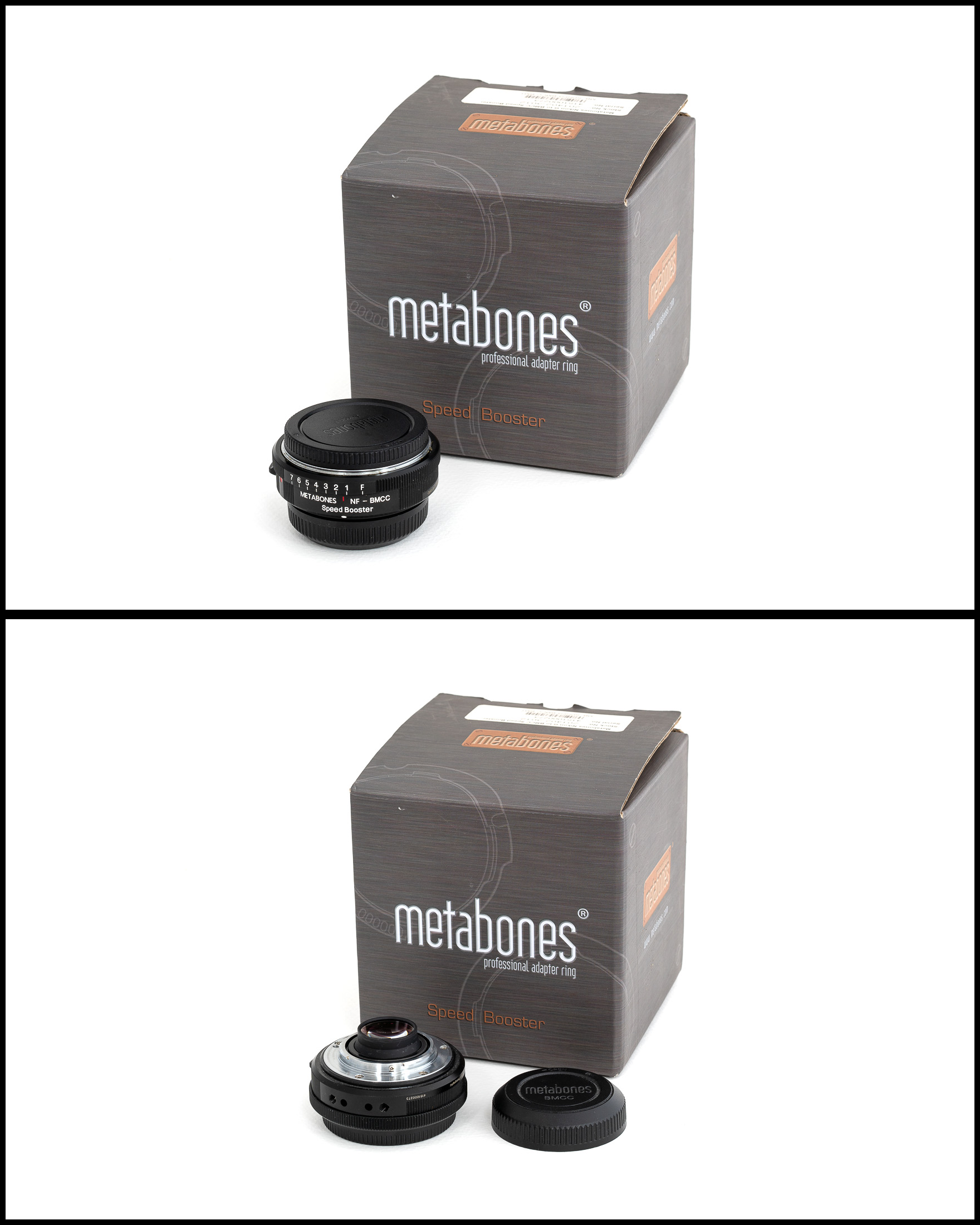 Metabones Speedbooster BMPCC - Nikon F    £350   In excellent condition comes with front and rear caps and original box.