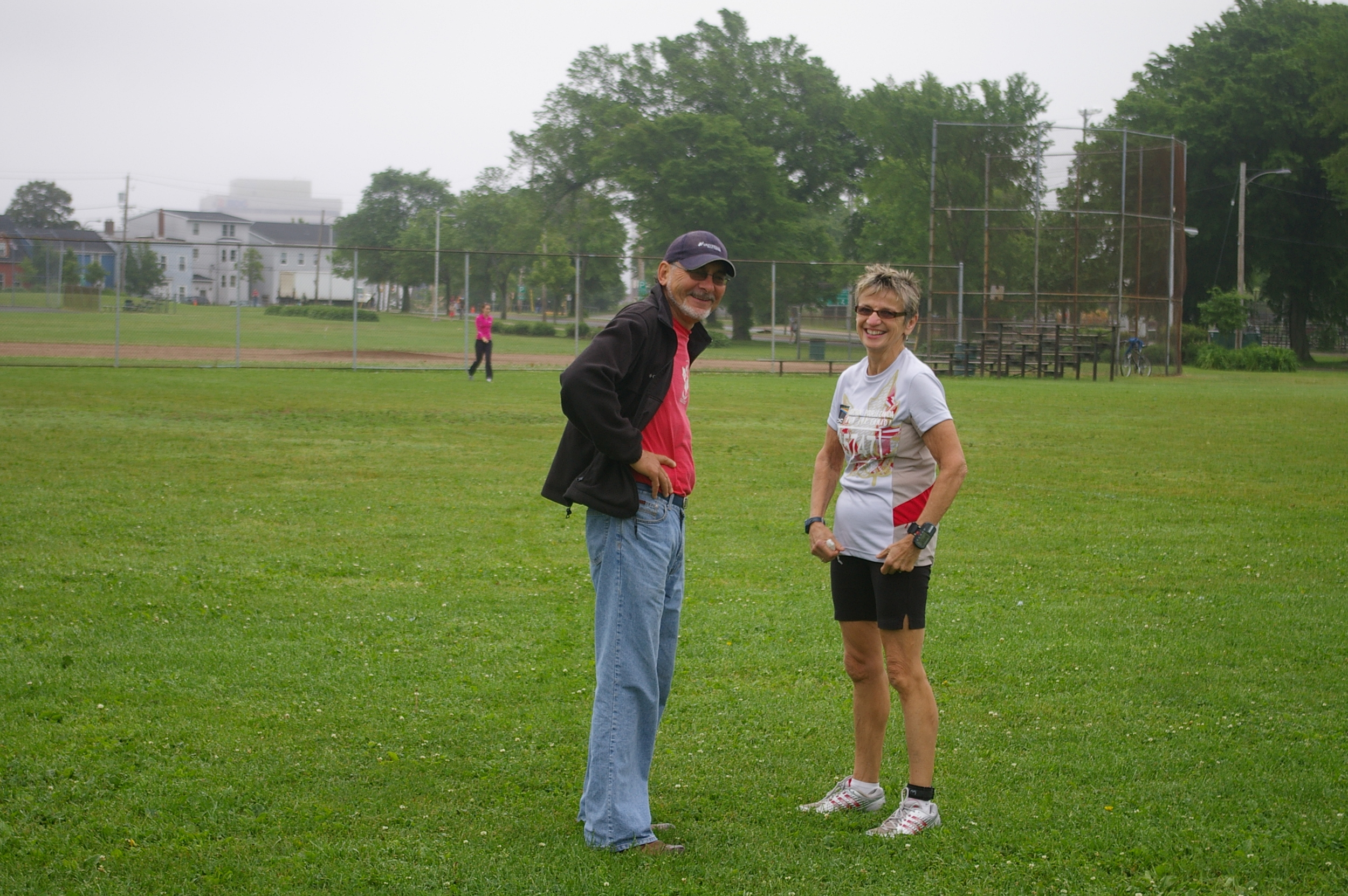 Coach Cliff with Georgie Gillis