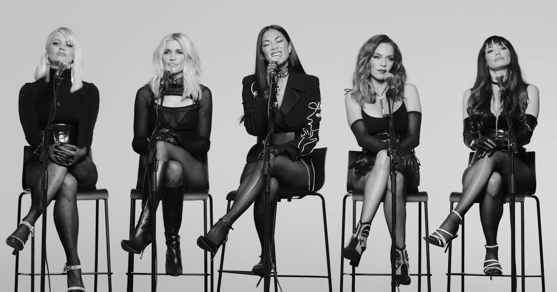 Pussycat Dolls React Acoustic For The Hunger Directed By Rankin Simon Jones Pr