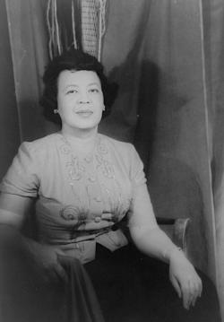 Portrait of Margaret Bonds, 1956 By Carl Van Vechten