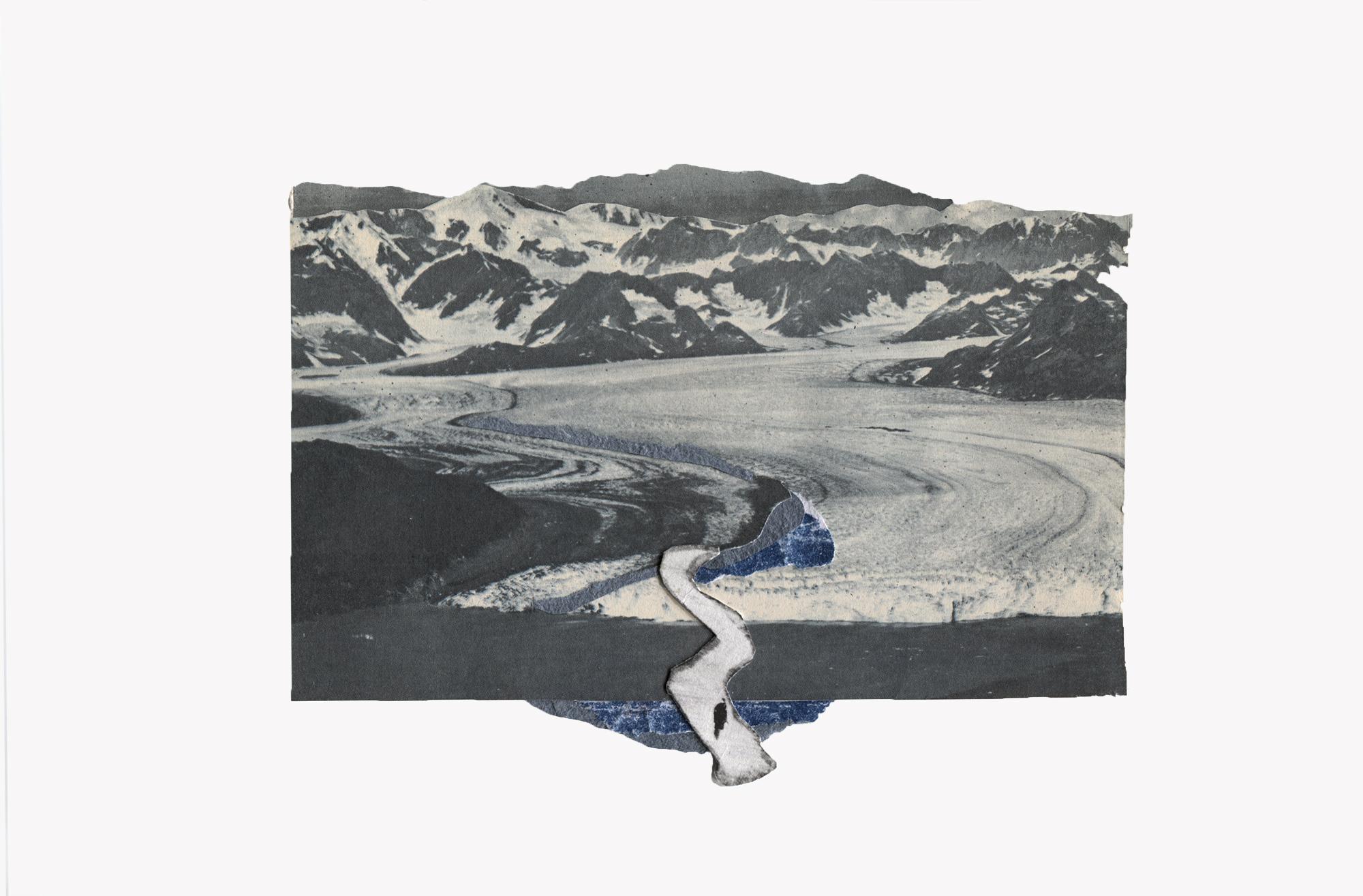 """""""todo se desvanece y vuelve""""  Fragmento de El río en una línea azul"""