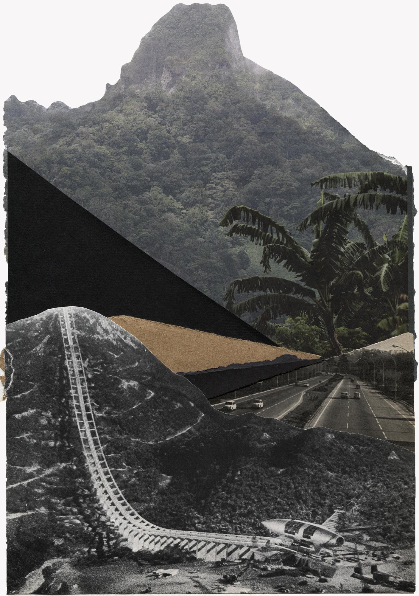 """""""infinitos son los caminos"""" COLLAGE SOLD/VENDIDO"""
