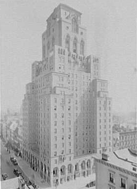 The Barbizon Hotel. © Library of Congress