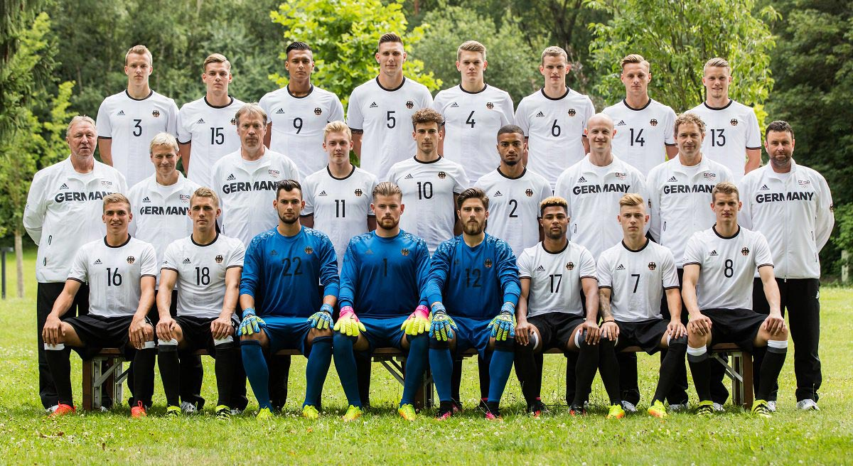 U21 Sponsorship - Stone will be partnering with and sponsoring the U21 German National Team - the training organization for the main national squad. The team features under-21 German football stars, a perfect representation of our story.You can spot Serge Gnabry in the front row.