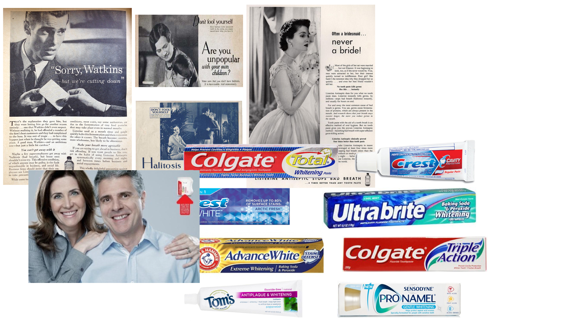 An Industry Rooted In Insecurity - Oral care advertising was built to make you second guess yourself.