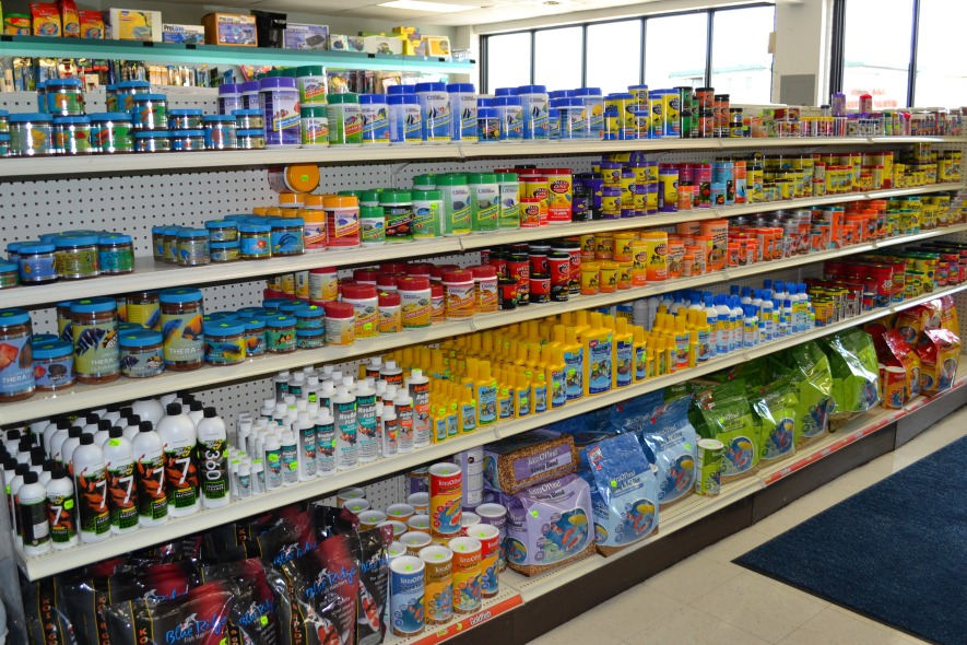 Can you find all the tetra? It makes up almost 50% of the aisle.