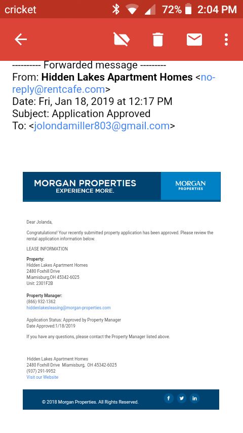 Apartment Guarantee Option — CREDIT & EVICTION SERVICE Eviction