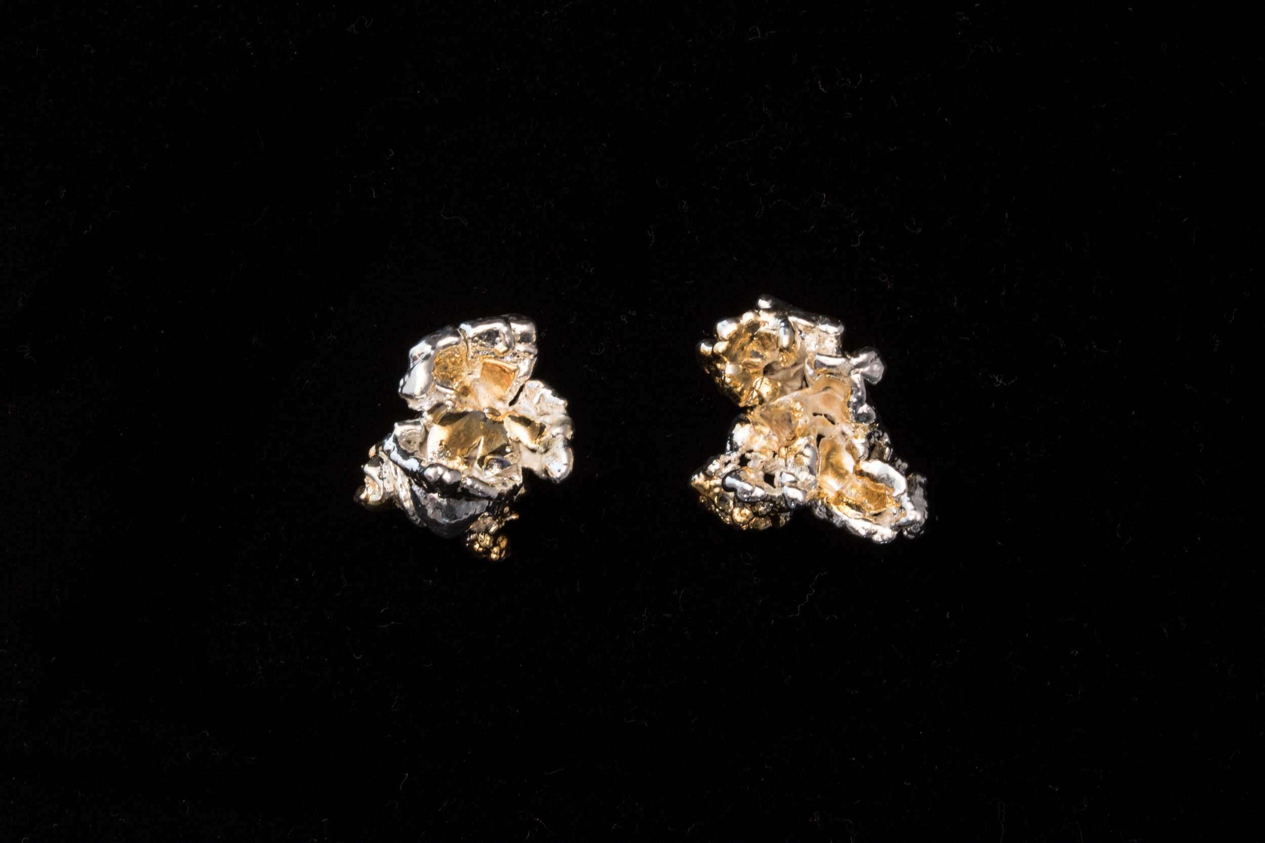 Popcorn Earrings, 2017