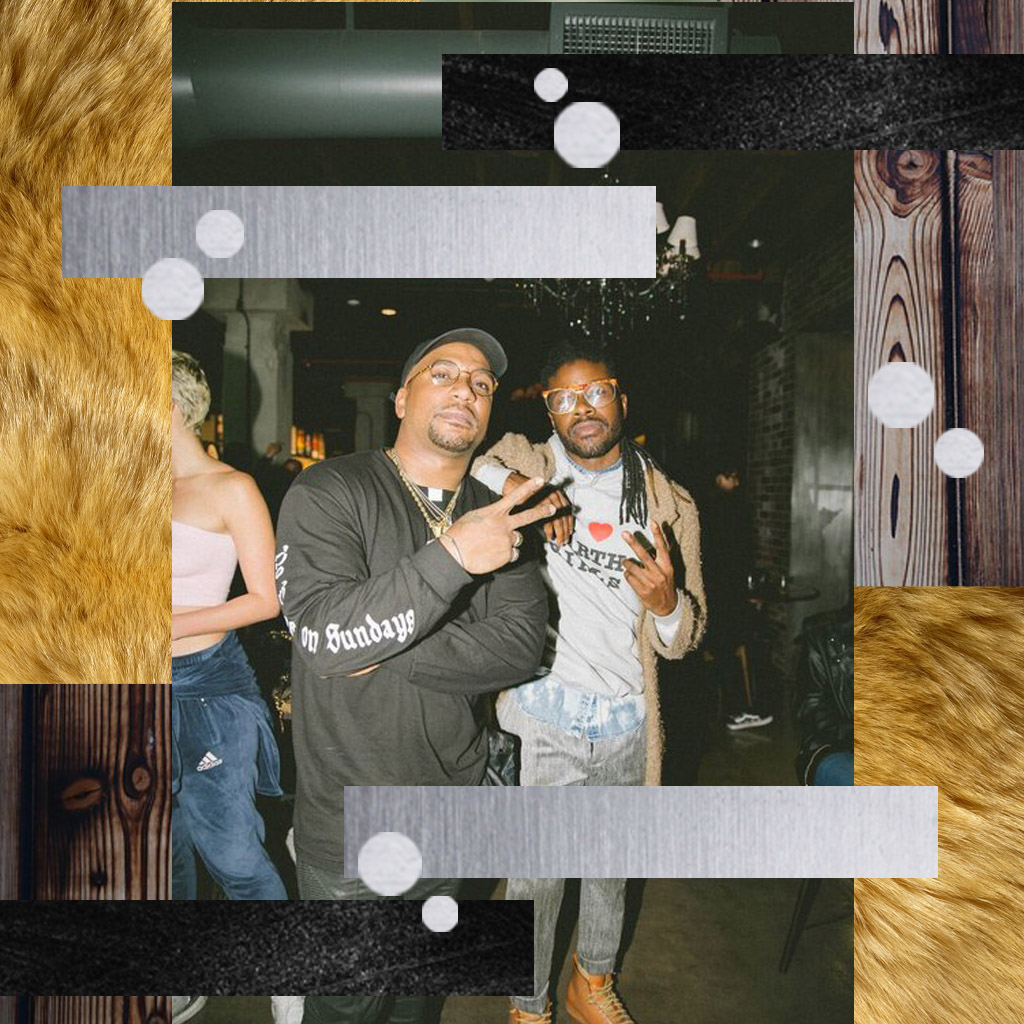 JESSE BOYKINS III AND CYHI THE PRYNCE ATTEND PLAYBACK SESSION FOR  NO DOPE ON SUNDAYS / PHOTO CREDIT:  FRANKIE HILDEBRAND