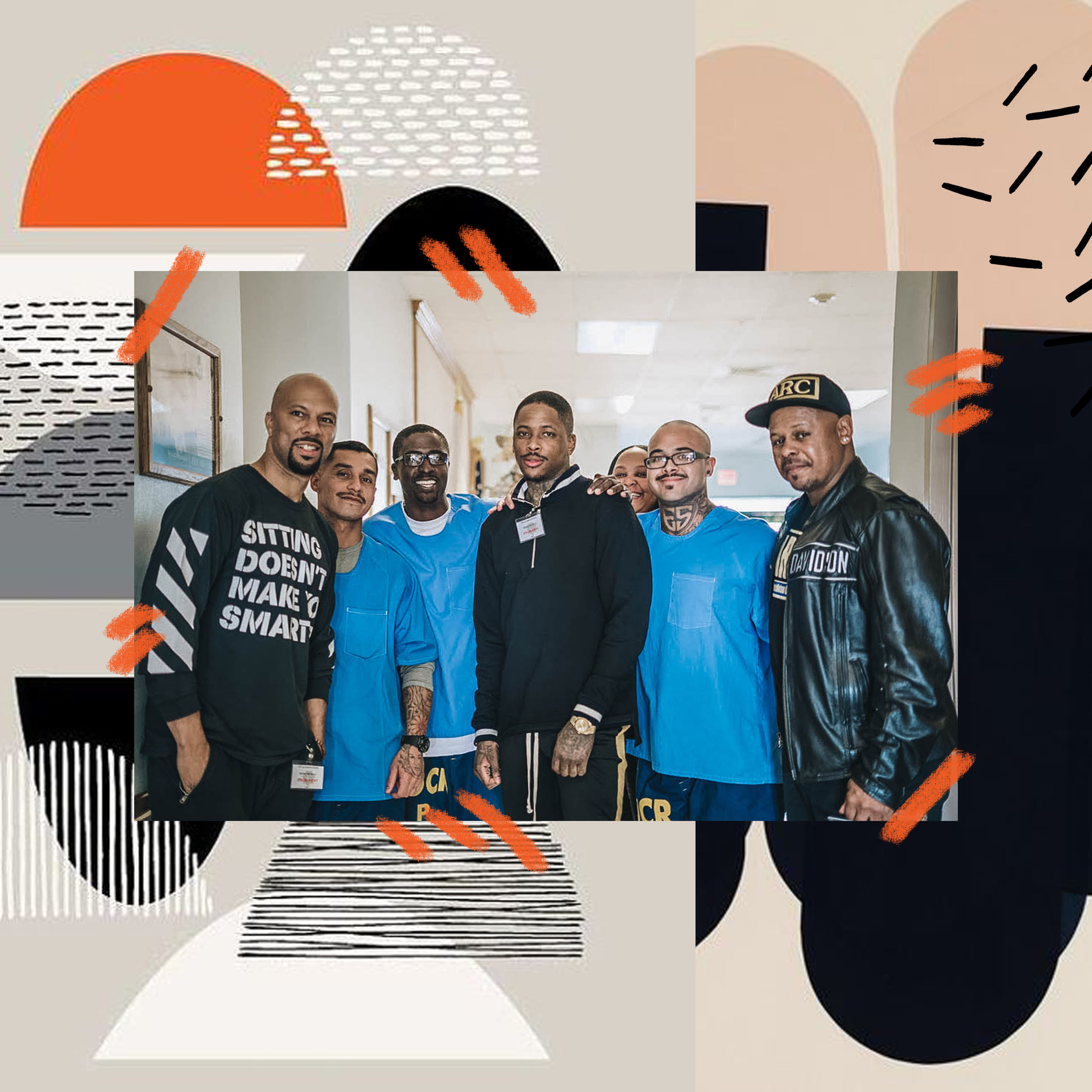 TEAM COMMON + IMAGINE JUSTICE VISIT PRISON
