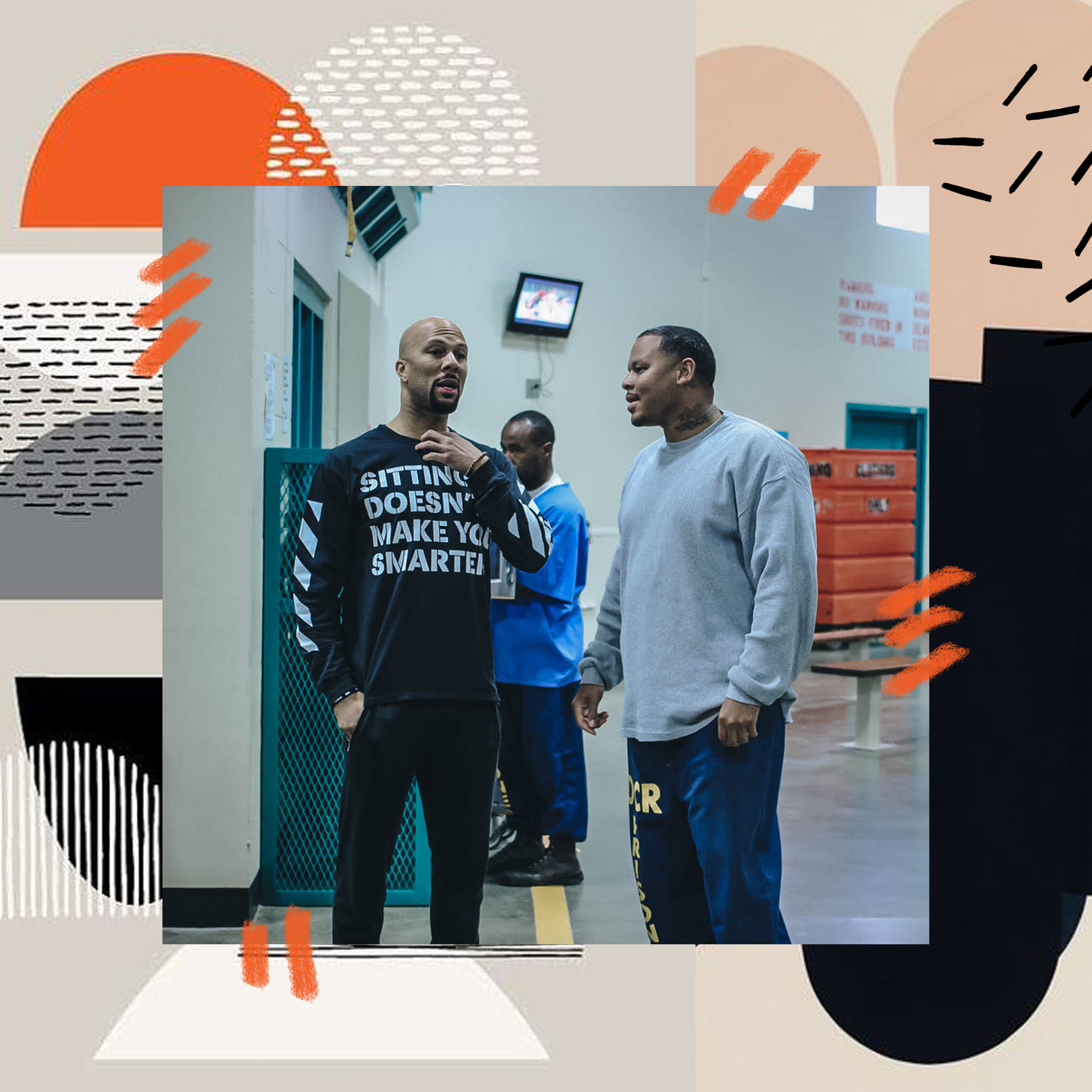 COMMON + IMAGINE JUSTICE VISIT PRISON