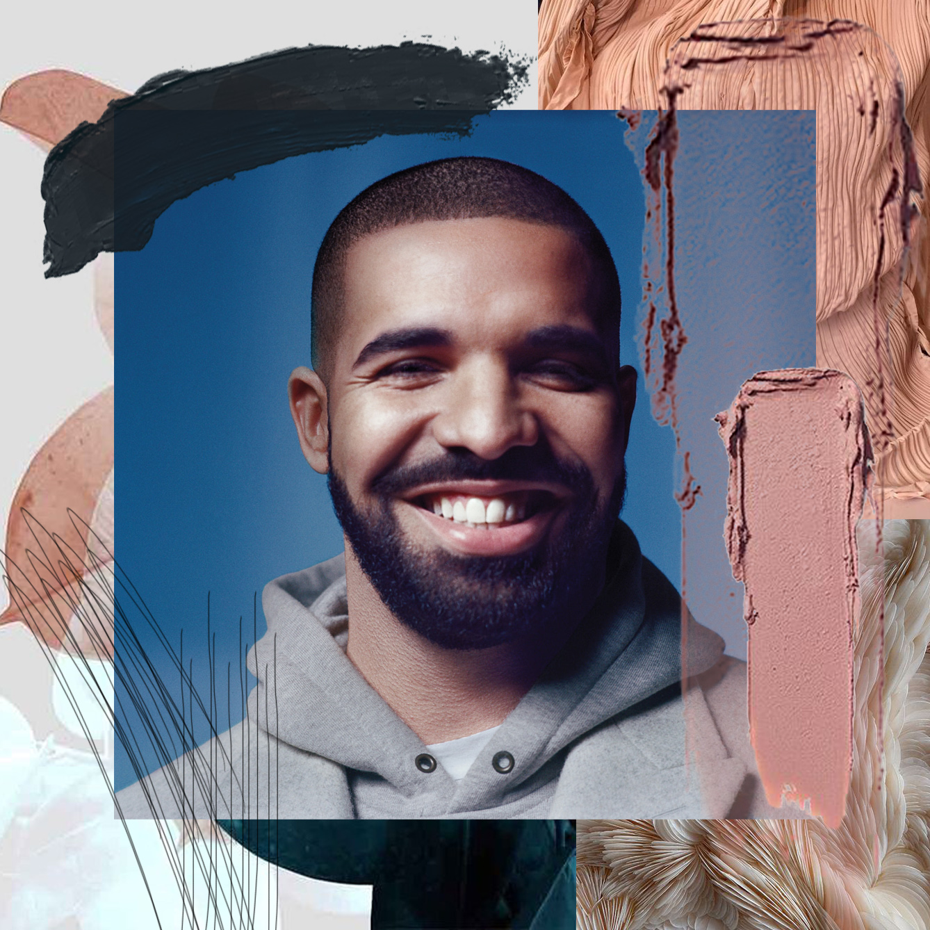 DRAKE IS ONE OF THE WORLD'S TOP STREAMING ARTISTS  / PHOTO CREDIT:  DRAKE  / DESIGN CREDIT:  VANESSA ACOSTA