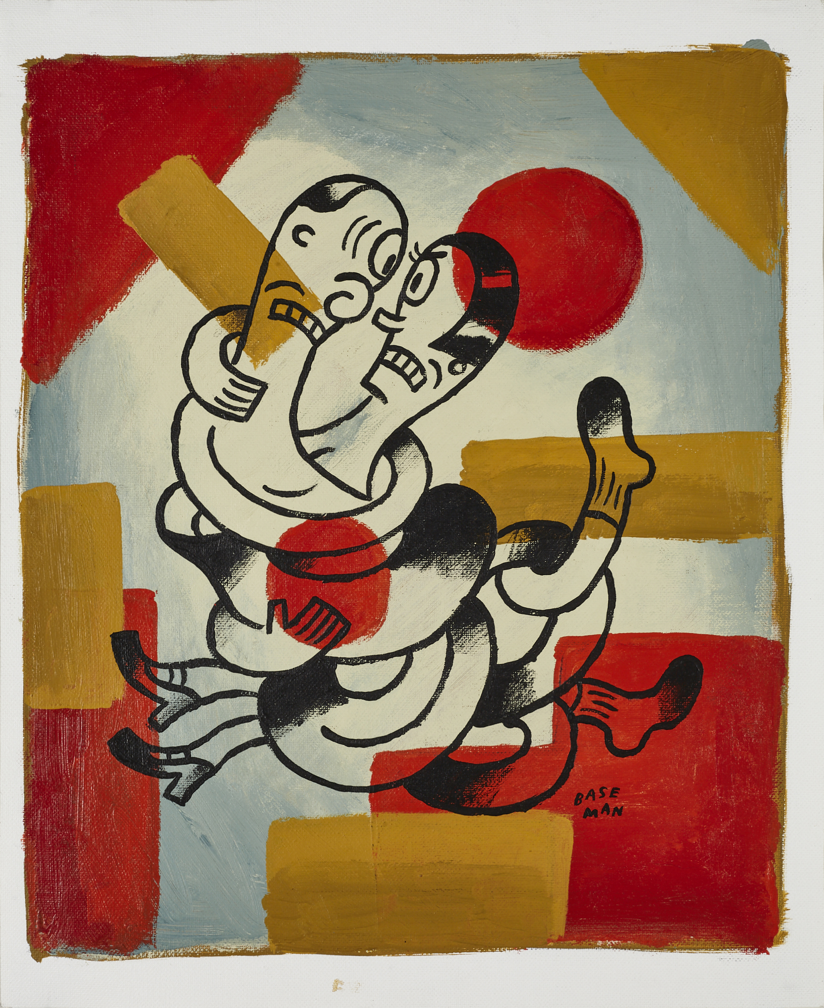 Man and Woman in A Tangle