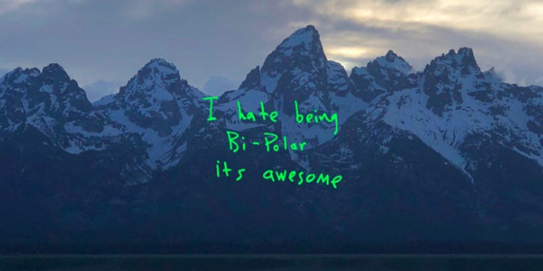 THE COVER ART FOR KANYE WEST'S 'YE' ALBUM / PHOTO CREDIT: KANYE WEST / G.O.O.D. MUSIC