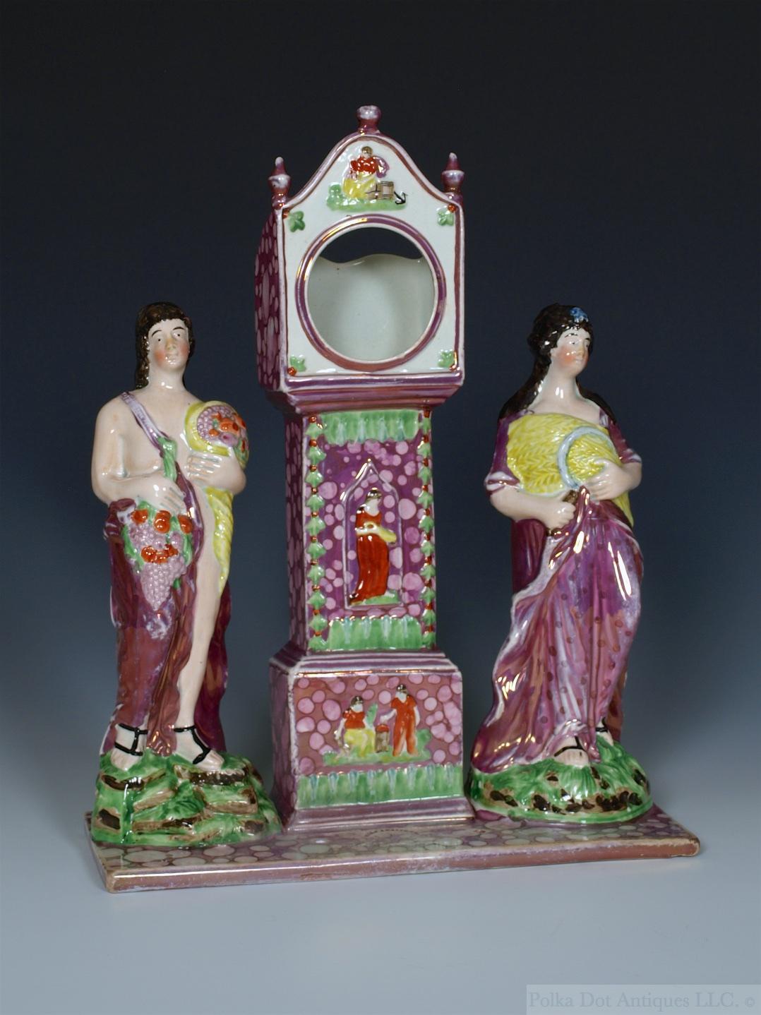 "Set of Four Dixon Austin & Co Figures of the Seasons, c.1820, 9""."