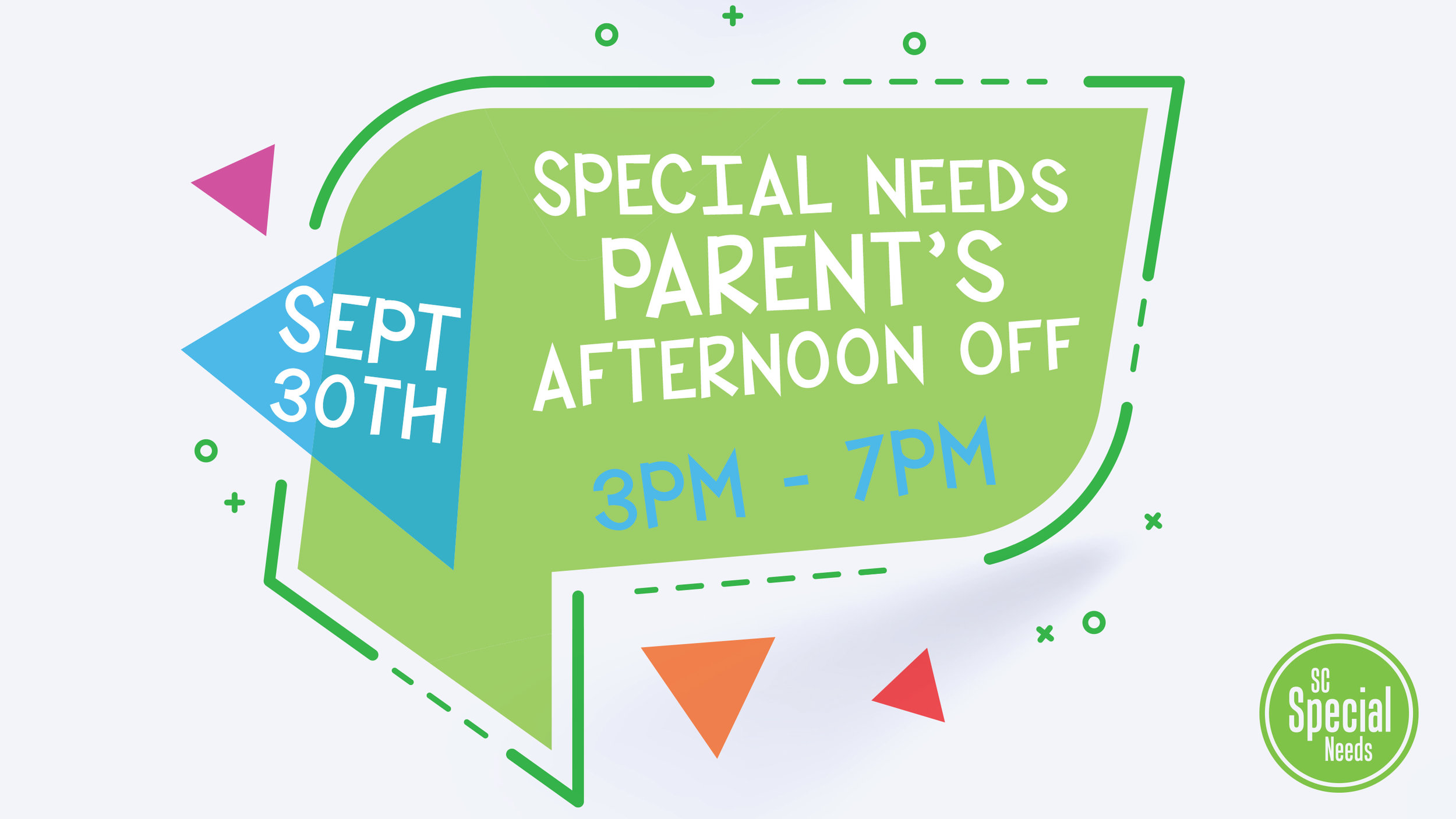 PARENT'S AFTERNOON OFF  Saturday, September 30th from 3pm - 7pm For more information, contact  Byron Sellers  @ (704) 525-1133  or byron@steelecreek.org.