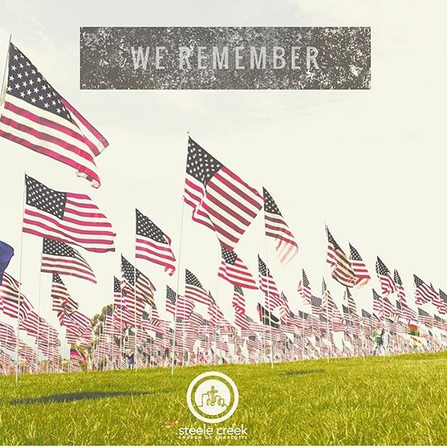 Today we remember the men and women who have lost their lives in battle fighting for our freedom. Freedom is not free.