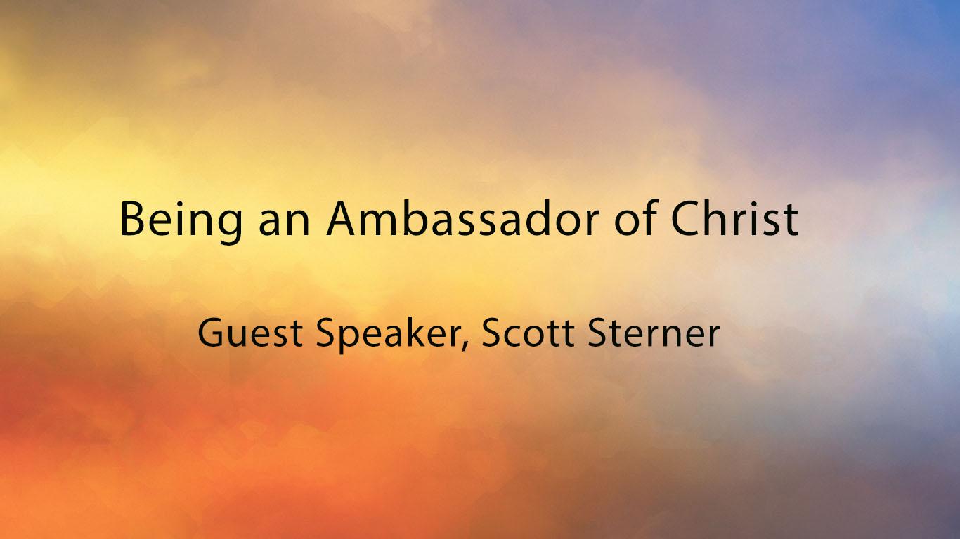 An Ambassador of Christ