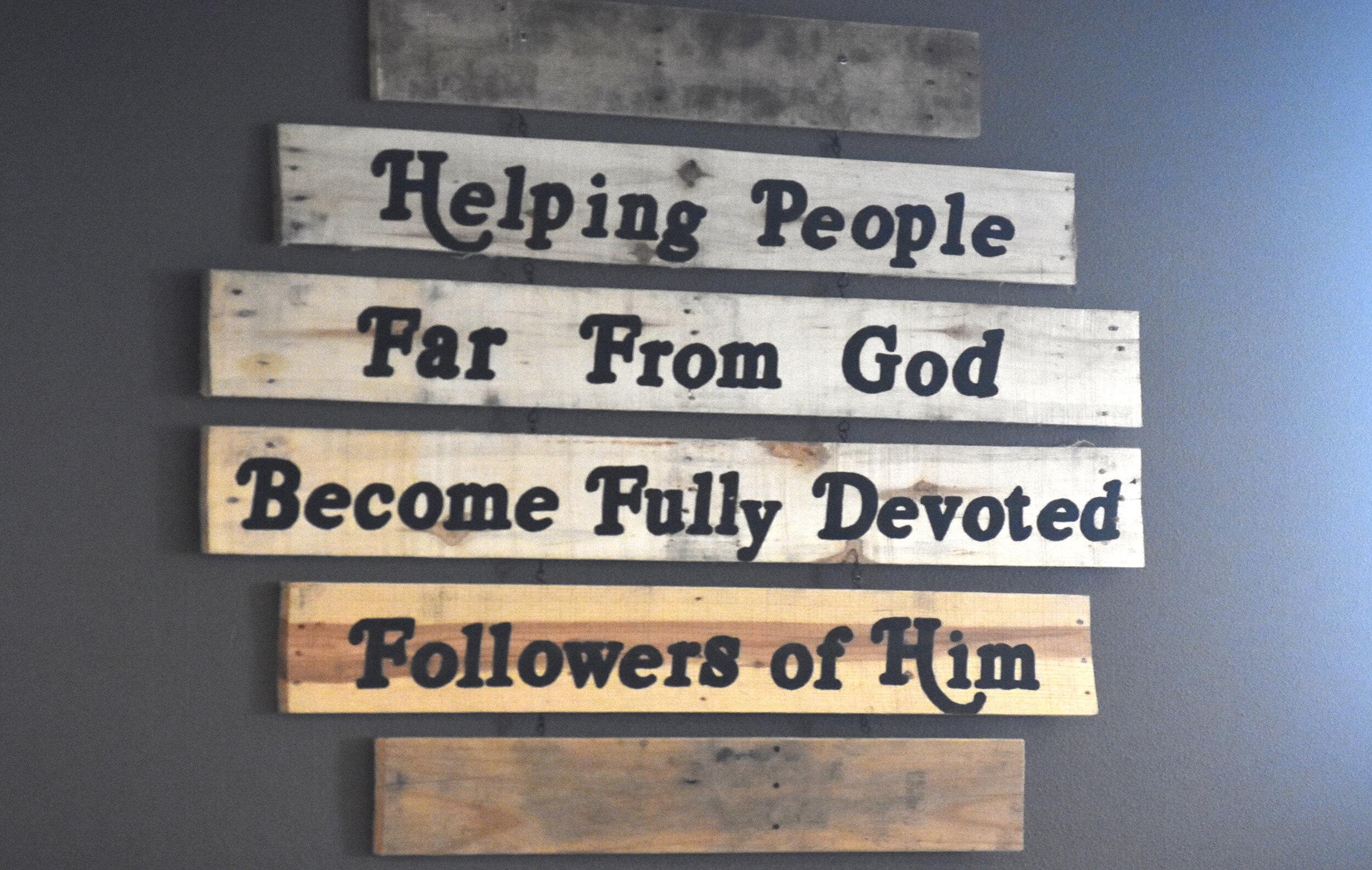 What We Believe -