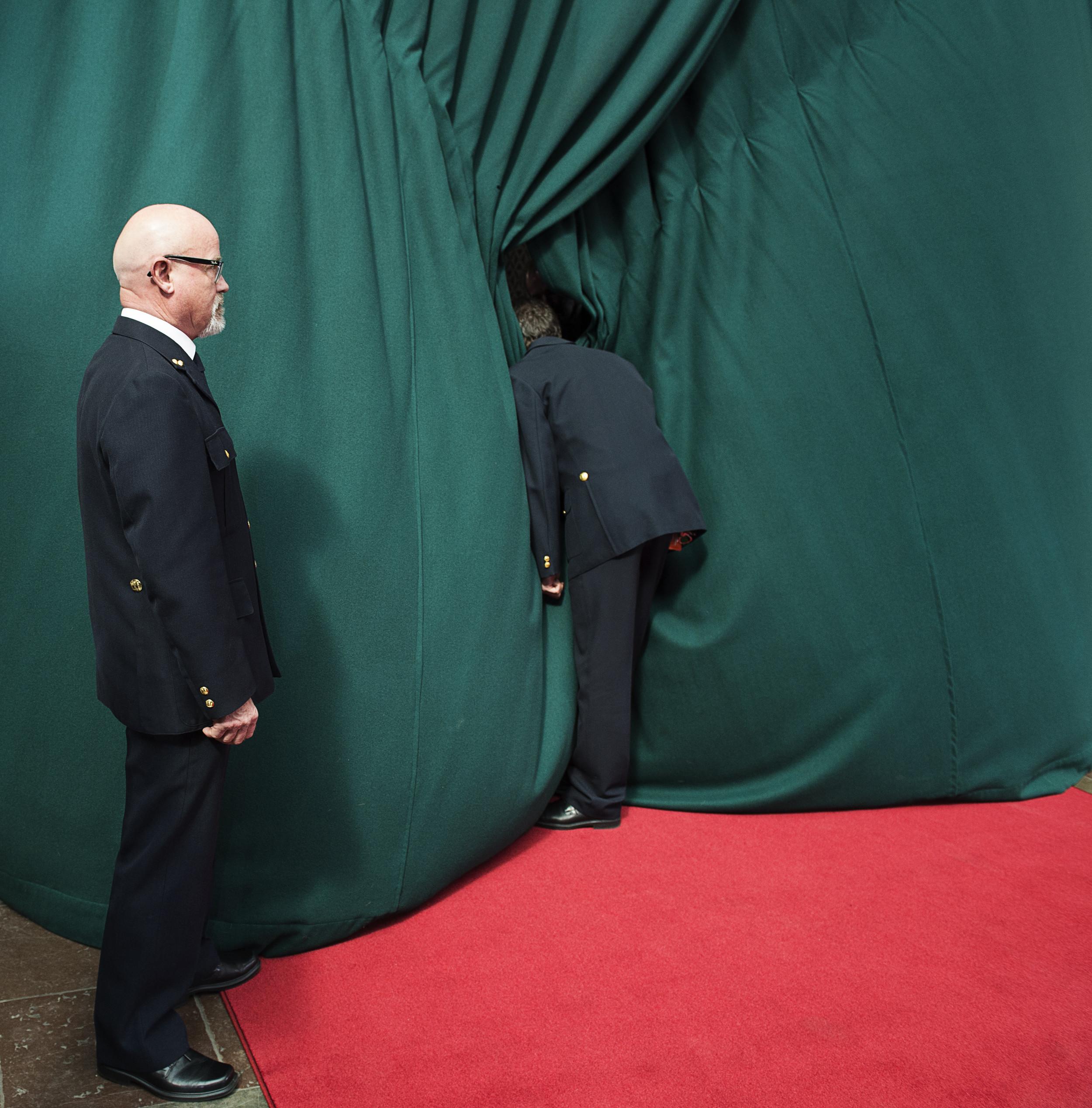 Dronning Margrethe ventes på Københavns Rådhus