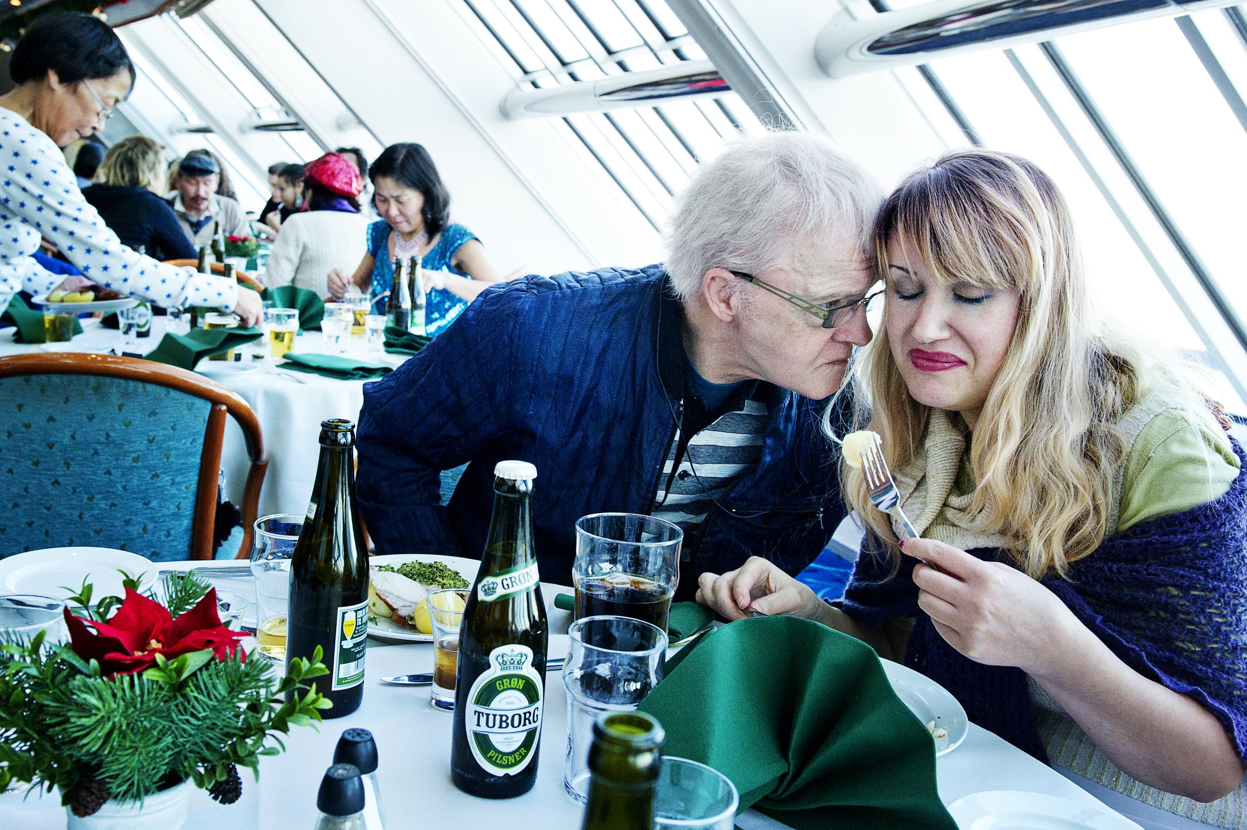 Hjemløse er inviteret til julefrokost på DFDS færgen