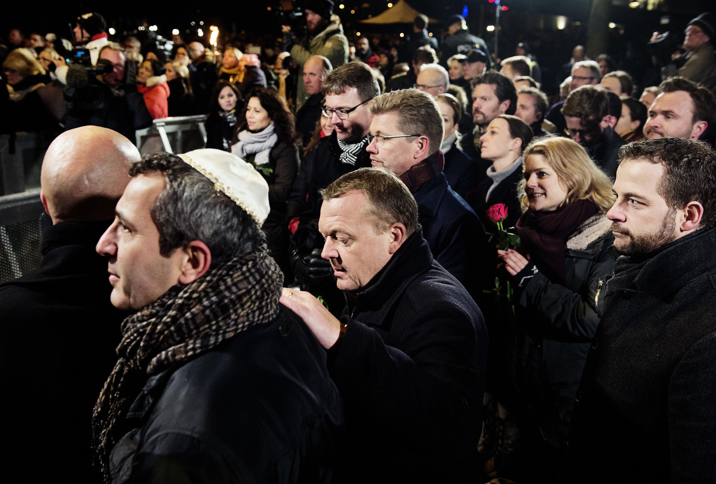 Mindehøjtidelighed for ofrene for terrorangrebet ved Krudttønden og i Krystalgade