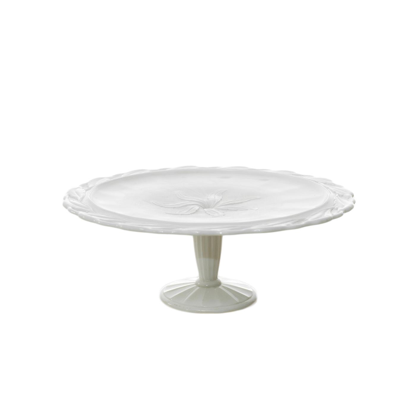 Satin Leaf Cake Stand