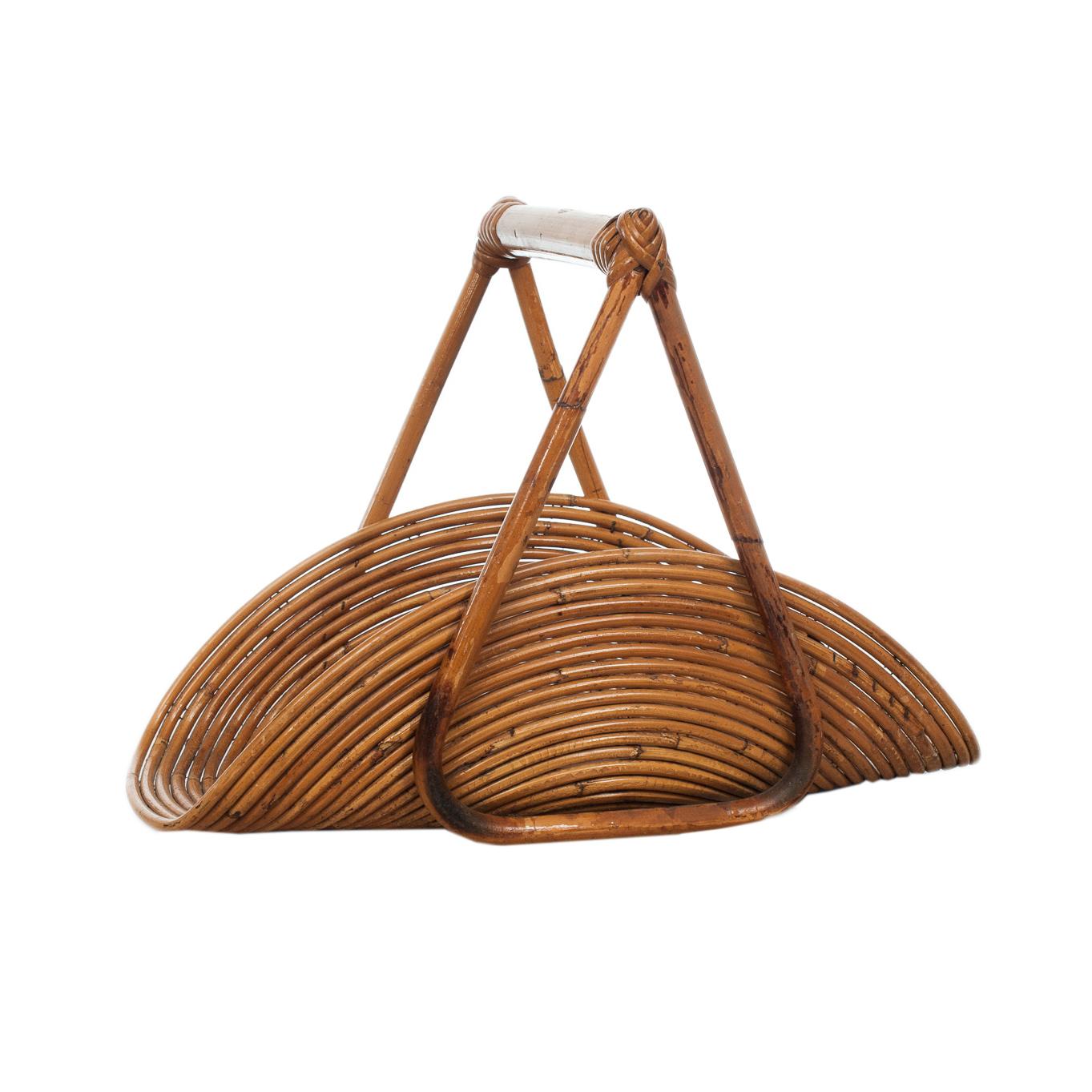 Bamboo Flower Basket