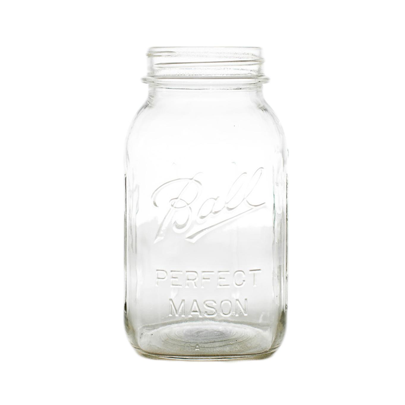 Mason Jar Clear Glass