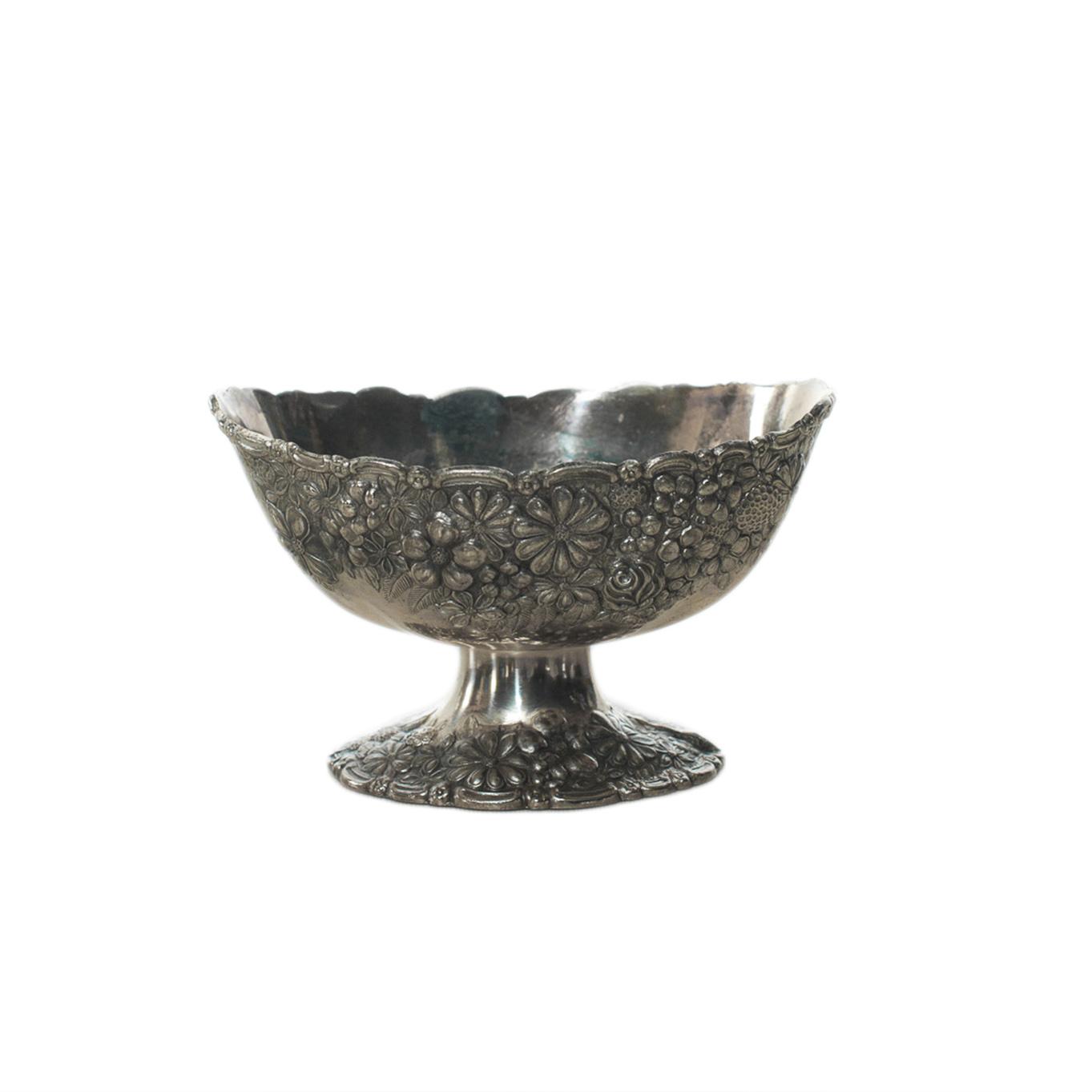 Silver Pedestal Dish