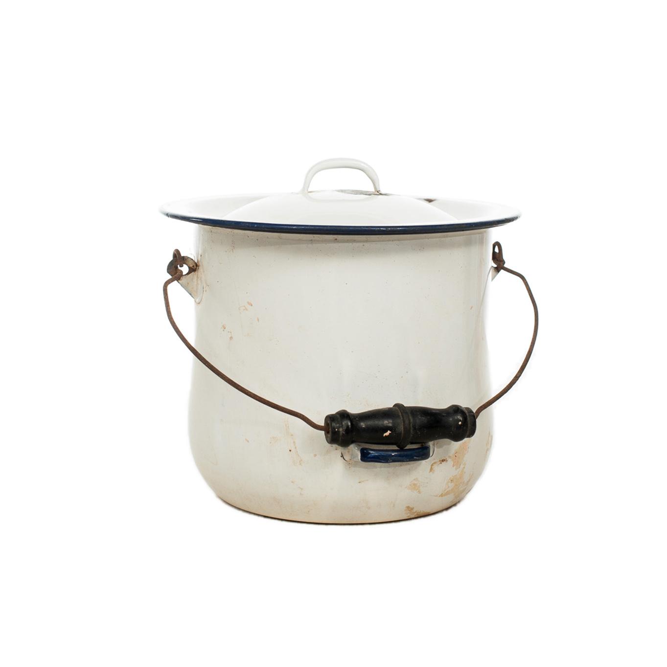 Enamel Soup Pot