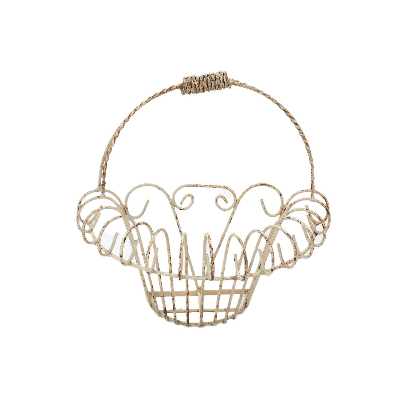 Wire Floral Basket