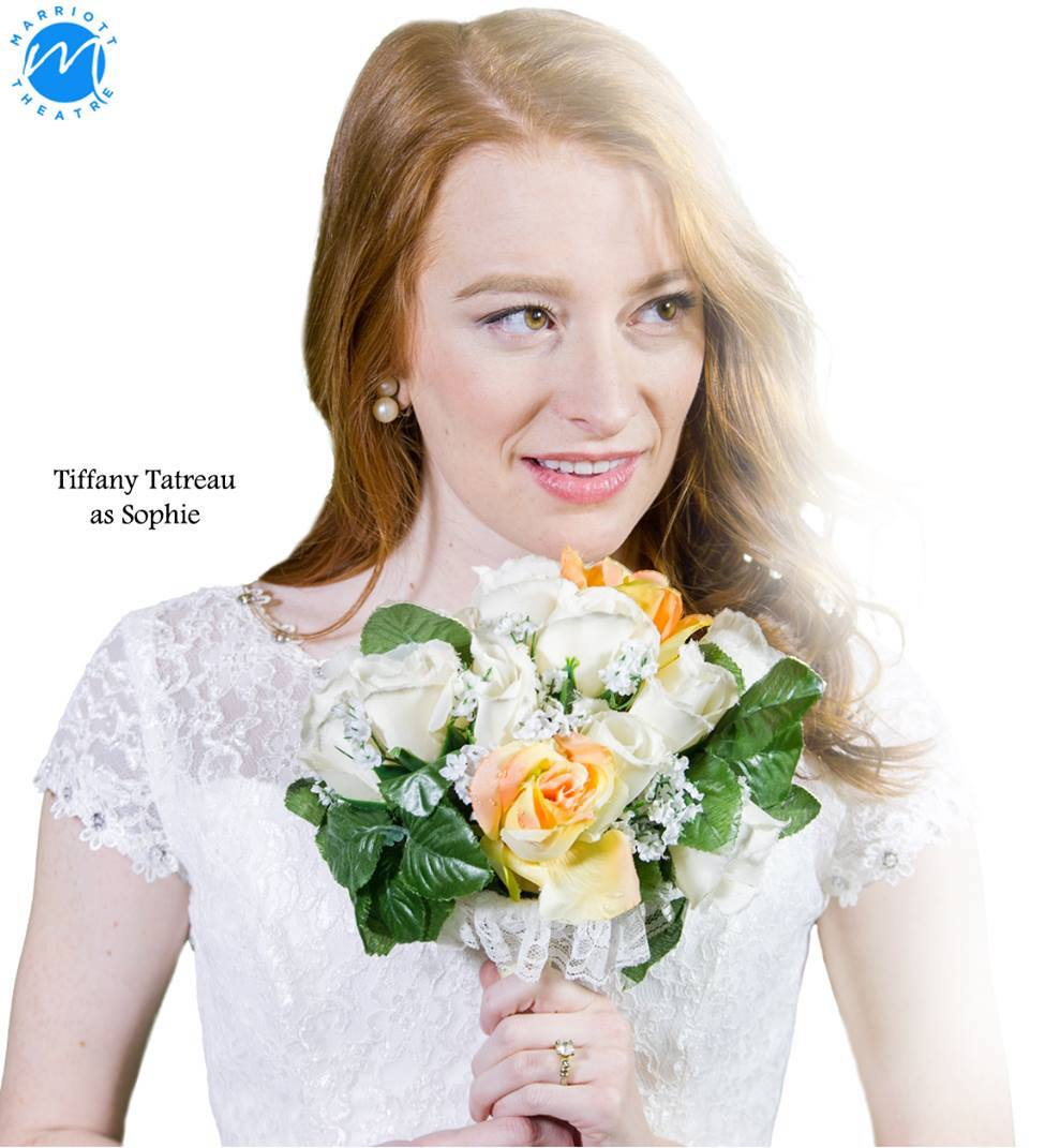 """Praise for Mamma Mia! at Marriott Theatre - """"Rockwell's No. 1 asset in this production is Tiffany Tatreau, who might just be the spunkiest Sophie Sheridan of all time. Her red hair is far removed from the original Swedish look-alike casting trope, Tatreau has the perfect pop voice for this material, along with all the requisite charm and vulnerability.""""- Chris Jones, Chicago Tribune""""This gifted young lady lends a sincerity and freshness to the role which makes us truly care about her. And, as demonstrated in Marriott's """"Sister Act"""" and CST's """"Ride the Cyclone,"""" this actress can sing and dance with the best of them. """"- Colin Douglas, Chicago Theatre Review"""