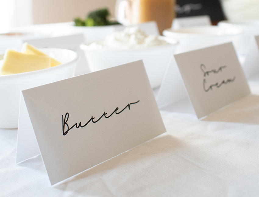Click here to download printable table tents
