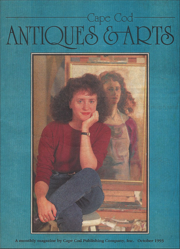 Teresa Welch, cover page  Cape Cod Antiques & Arts , 1993