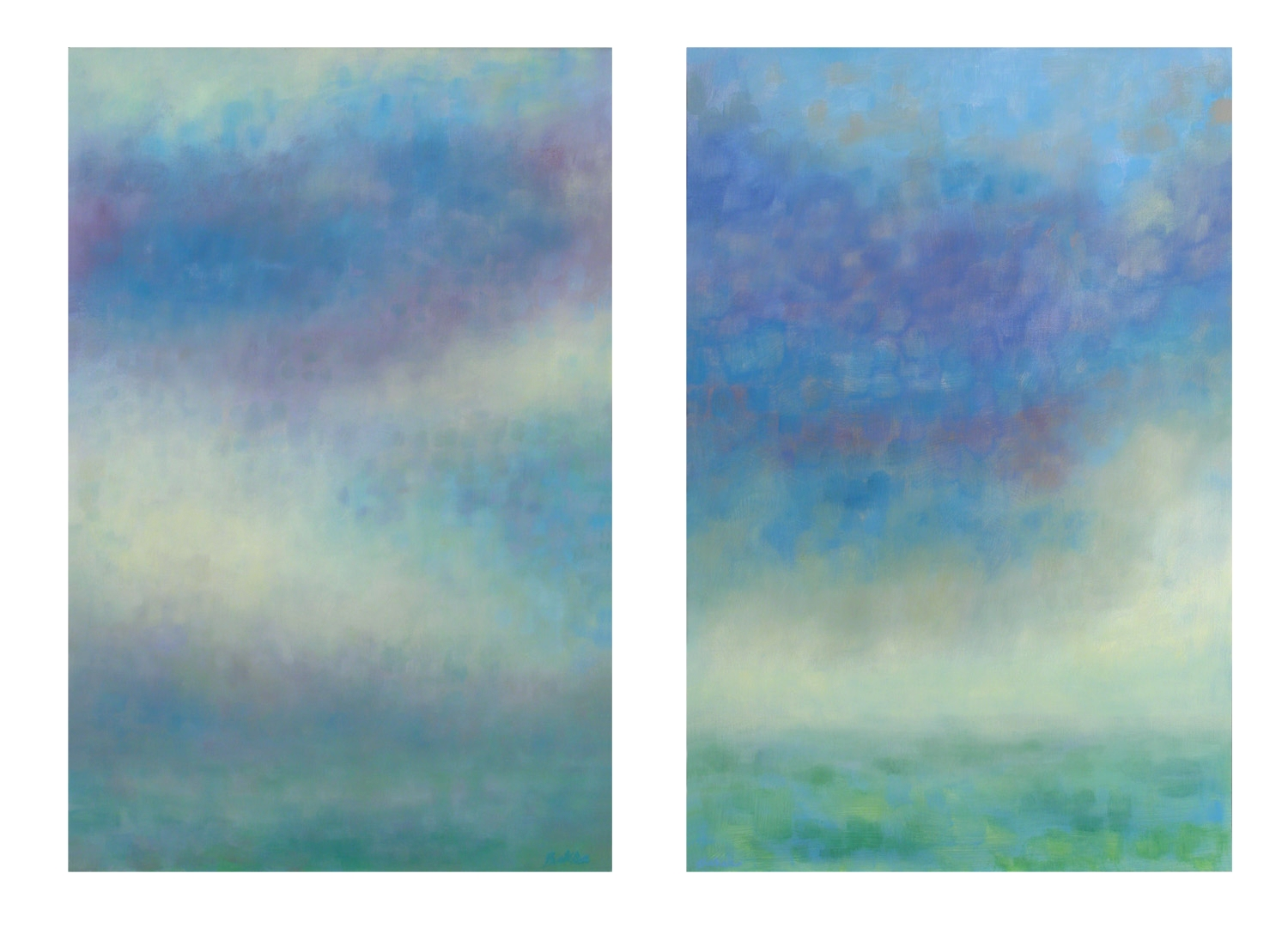 Summer Squall Diptych