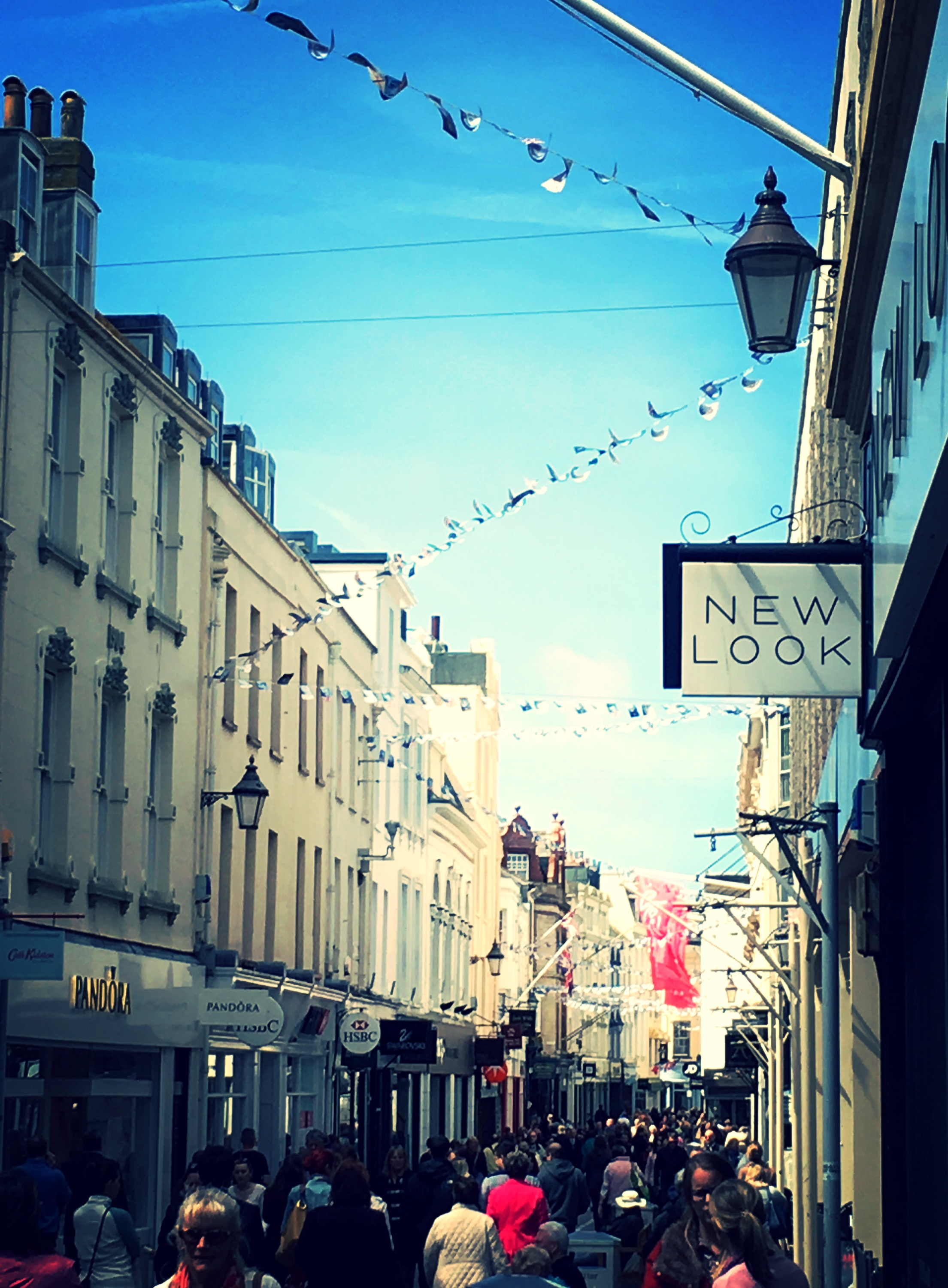 Jersey's a small place to be falling out with a limited number of stores!