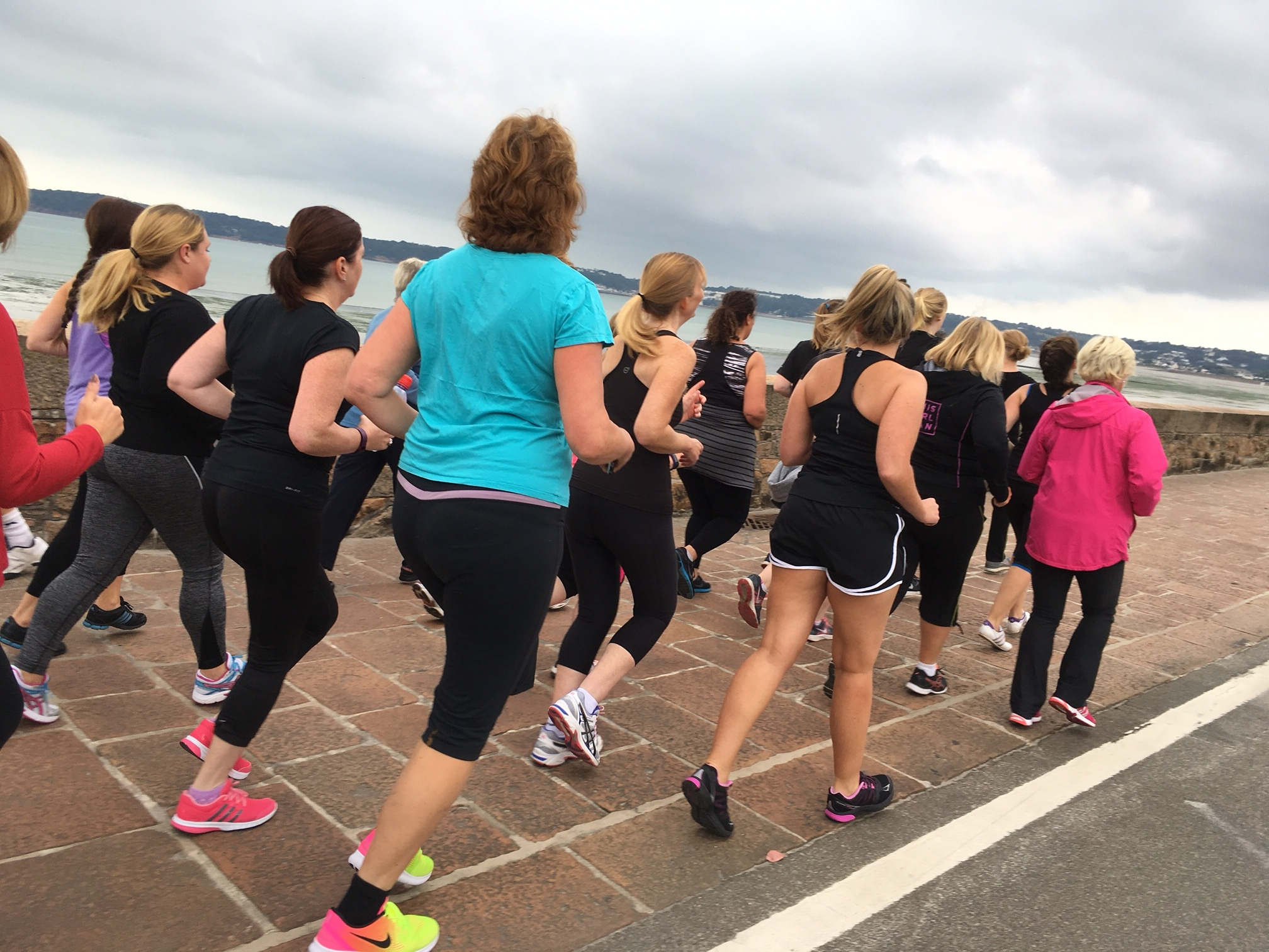 First session of Jersey Girls Can: Couch to 5K.