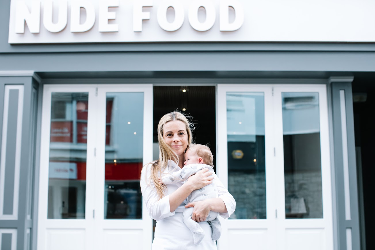 Taking advice from those that have successfully made a career change like Lucy at Nude Food.