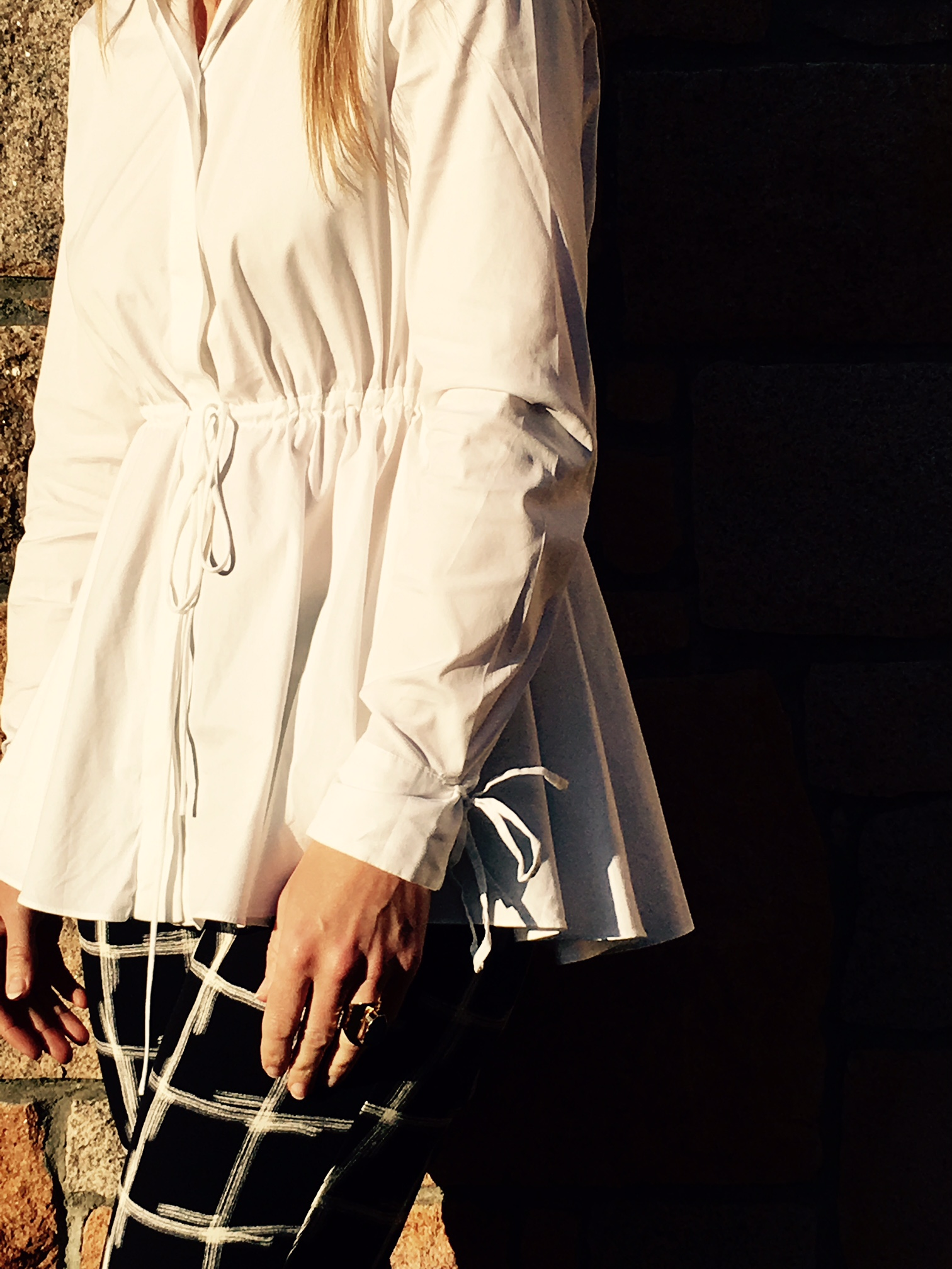 White shirts are classic...but can still be fun and different depending on styling.