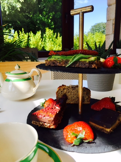 The spa has partnered with Wild Health who prepare their afternoon teas.