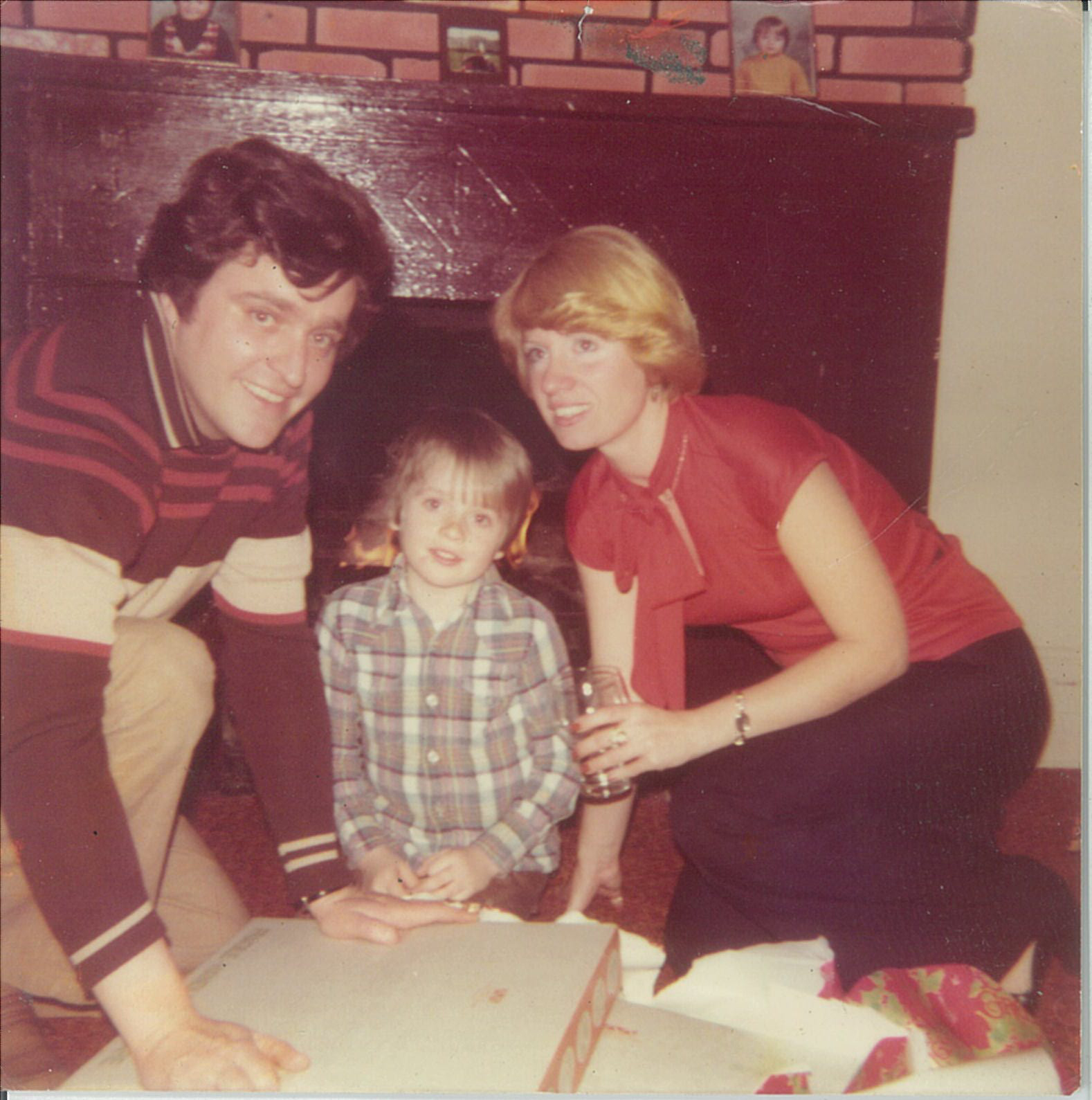 Jerry with his parents