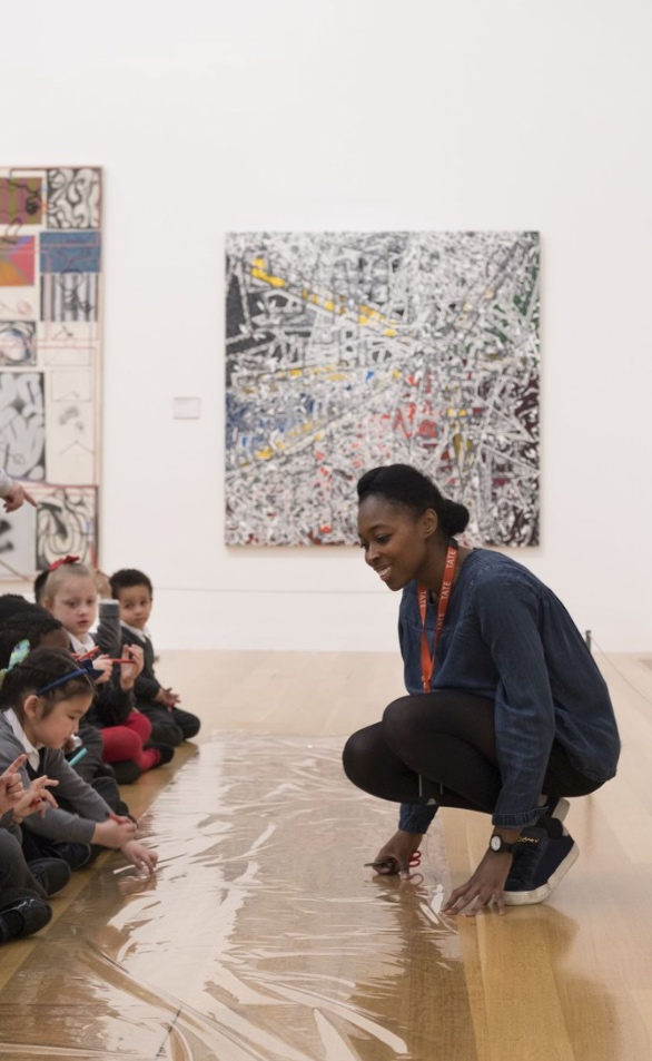 Schools Workshop, Tate Britain, 2018 Photo (c) Tate (Oliver Cowling)