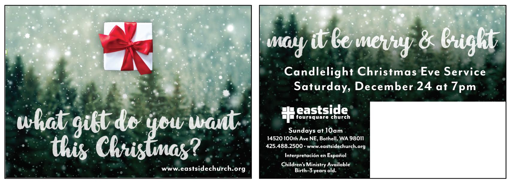 Christmas Eve Mailer