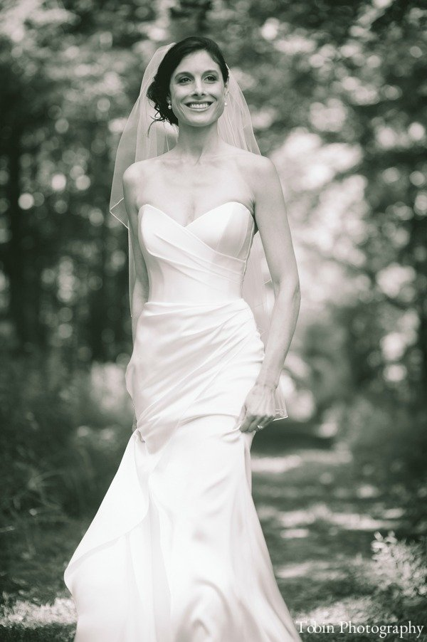 Bridal photos Hudson Valley wedding