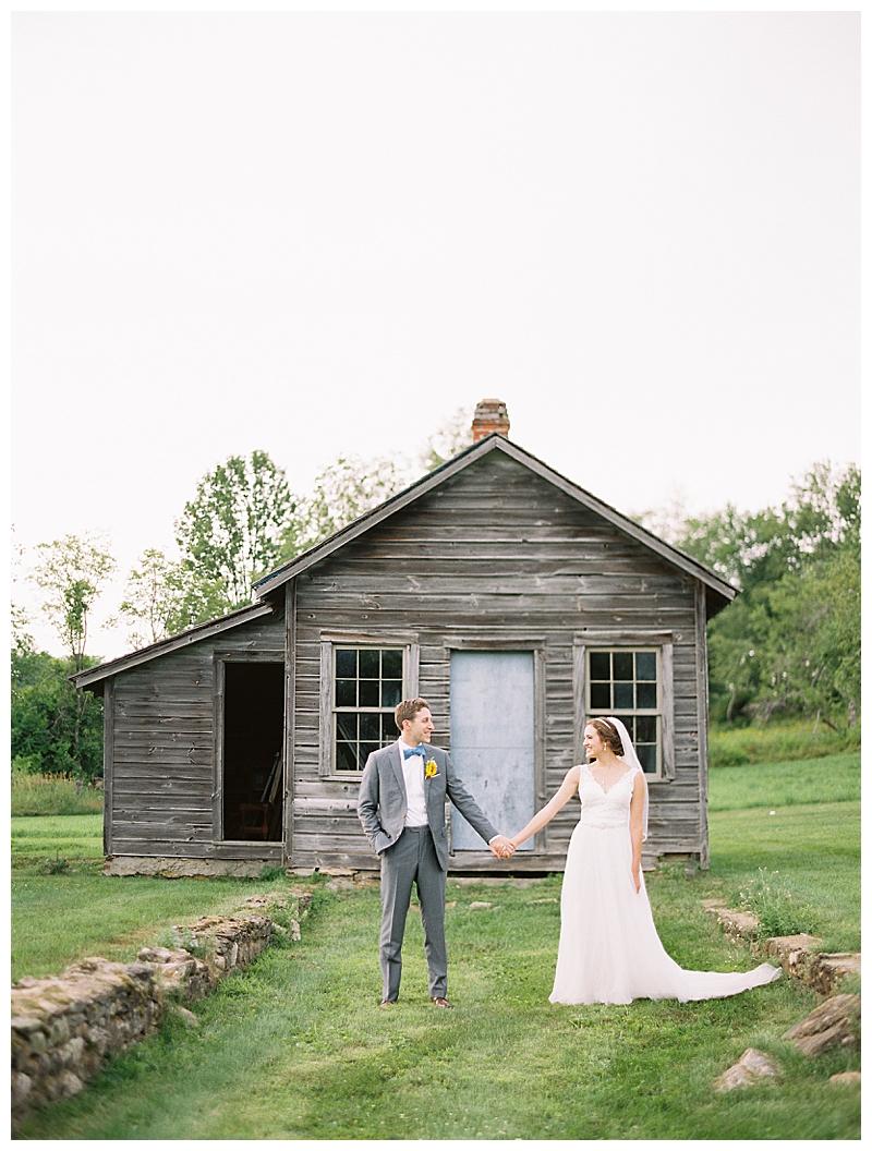 Rustic wedding in Berkshires