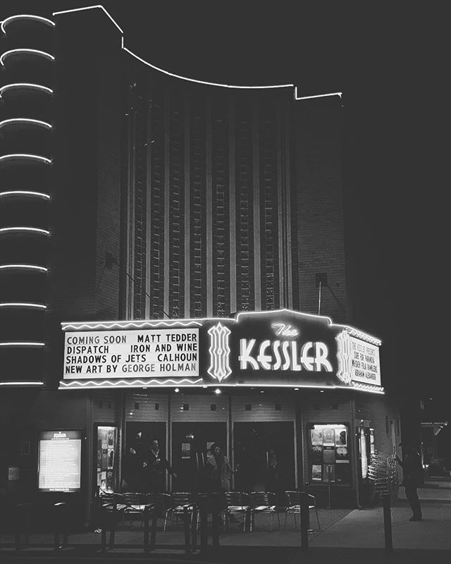 Every night is a perfect #livemusic night @bishopartsdistrict #kesslertheatre