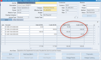 Installing Foreign Exchange Rates In Oracle E-Business Suite