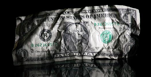 Dollar Held to Ransom